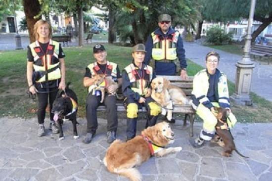 Nucleo Sansone Addestramento Cani Soccorso Addestramento Cani